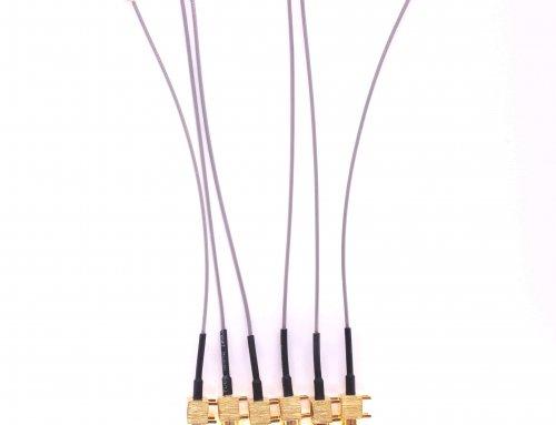 SMA Dustproof Bulkhead U.FL cable