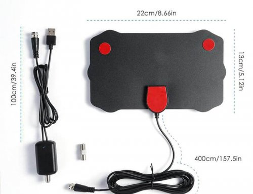HDTV Indoor Antenna with Amplifier Signal Booster