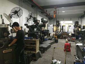 injection mold workshop